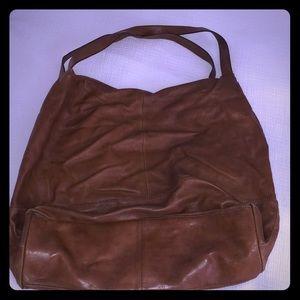Banana republic cognac brown leather purse